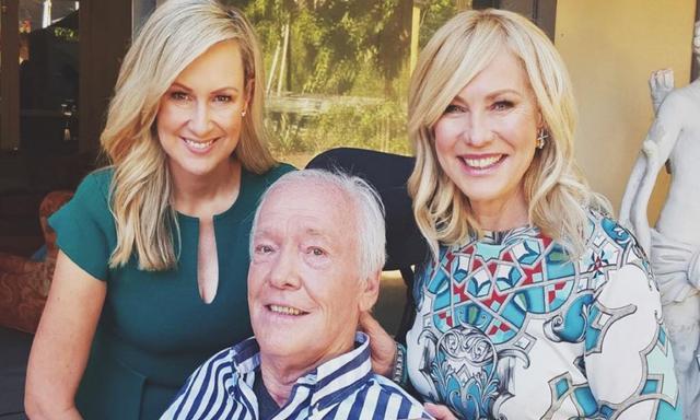 Kerri-Anne Kennerley's husband John is finally back home.