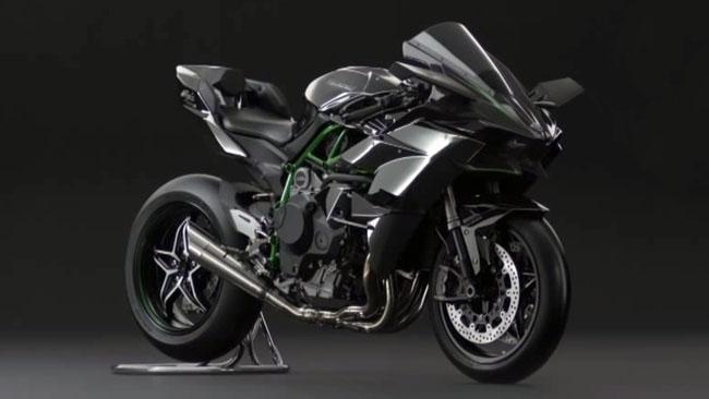 The new Kawasaki Ninja is a beast