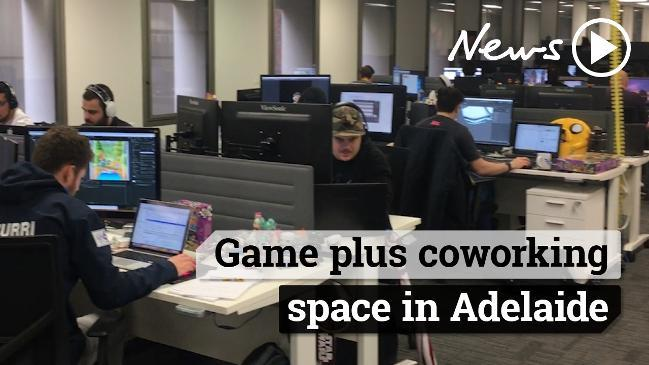 Game Plus coworking space in Adelaide