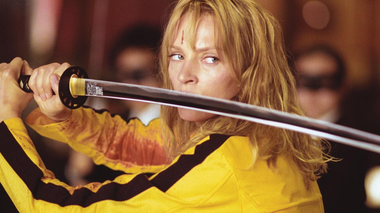 Actor Uma Thurman in 2003 film Kill Bill: Volume 1.