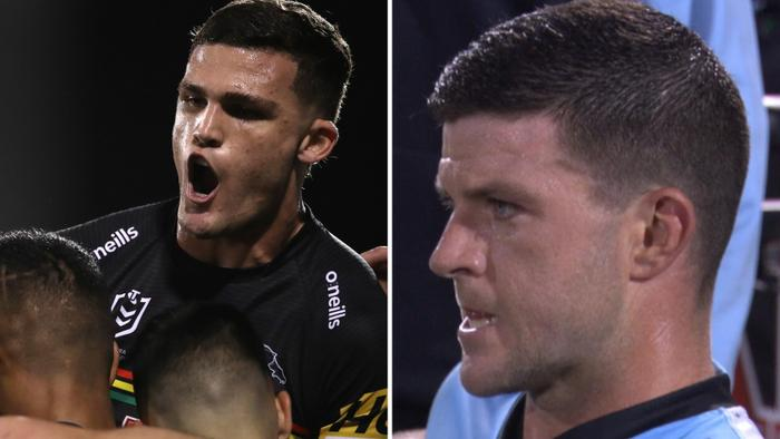 The Penrith Panthers ran riot against the Sharks.