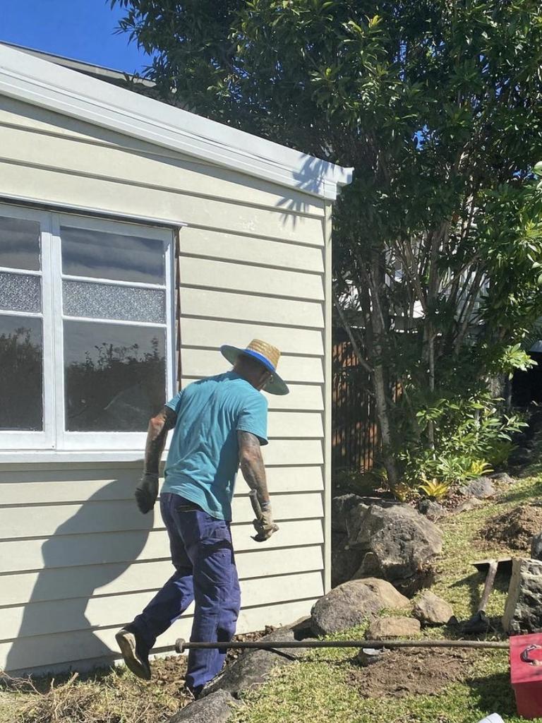 Lesa Lambert's husband Greg encouraged her to build the hobby hut.