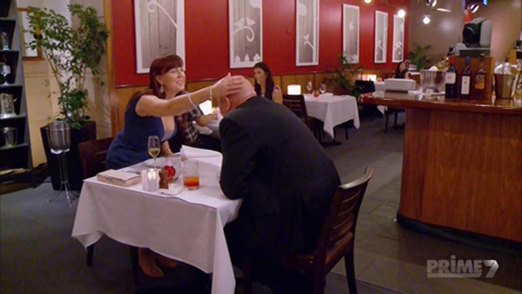 First Dates: Sharon likes a bald head