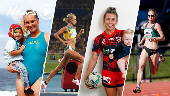 Super mums: Athletes on returning to elite sport after having kids