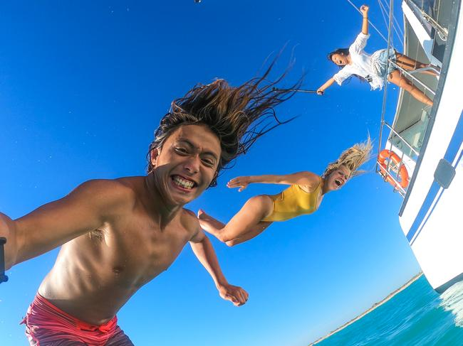 """Among the best photo winners was Japan-raised, Sydney-based photographer Taiyo Masuda, who described the experience as """"one of the best weeks in the world"""". Picture: Taiyo Masuda / GoPro"""