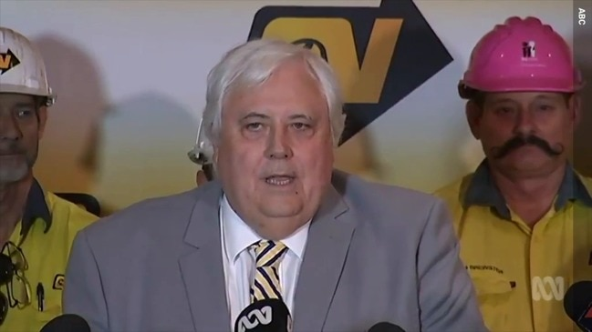 Clive Palmer to pay QNI workers