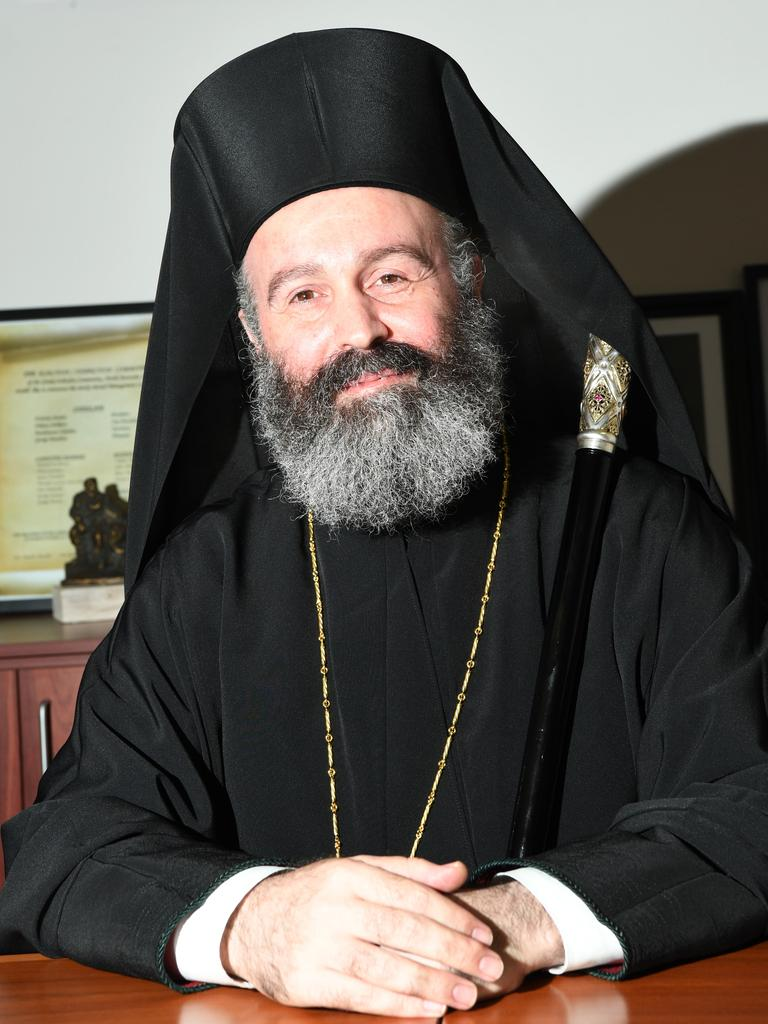 His Eminence Archbishop Makarios of Australia has ignored concerns expressed by worshippers over the COVID-19 risk of communion.