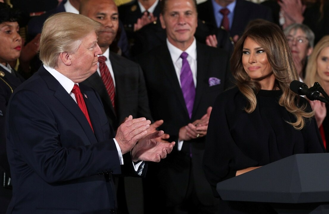 Melania Trump reflects on her first year as First Lady