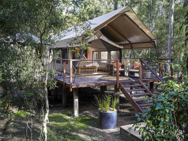 JERVIS BAY 4-DAY PACKAGE, $935 (FOR TWO) Support the NSW south coast in the wake of recent bushfires and stay for three nights at luxury glamping spot Paperbark Camp, Jervis Bay, for the cost of two. Pay from $935 a couple for a Safari Tent and also receive dinner on two nights and breakfast daily. Tents come with private ensuites. Book and stay before March 31, 2020. paperbarkcamp.com.au