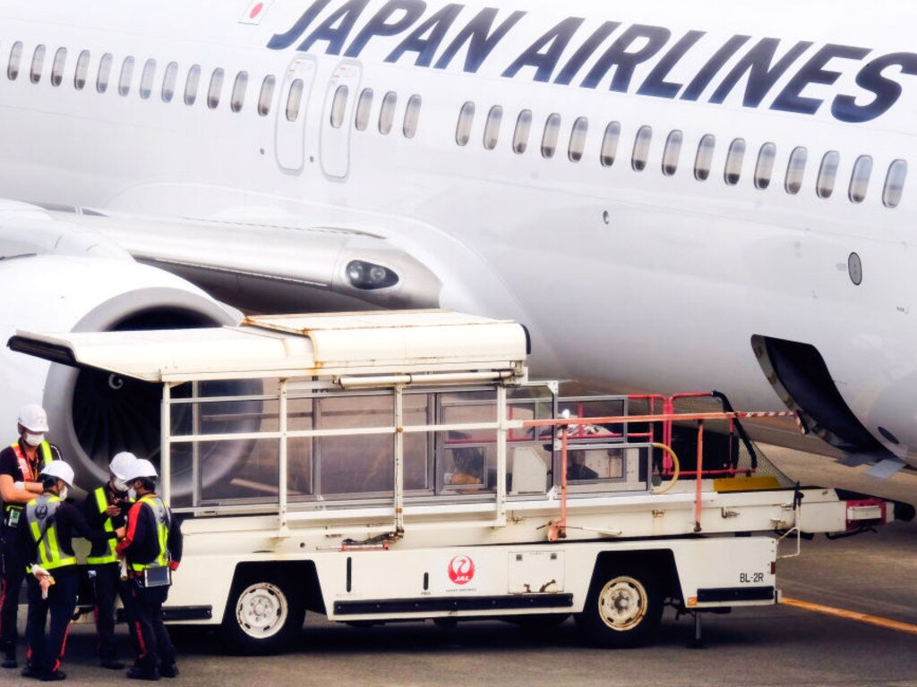 Japan Airlines will not tolerate poor athlete behaviour. Picture: James Matsumoto/SOPA Images/LightRocket via Getty Images