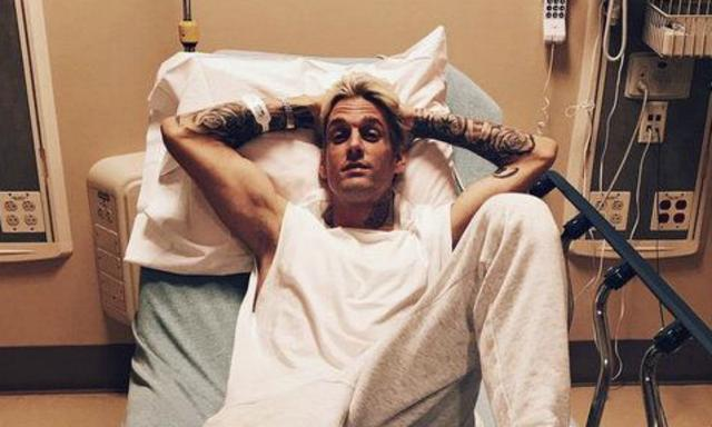 No, Aaron Carter isn't OK right now. And he wants everyone to know why.