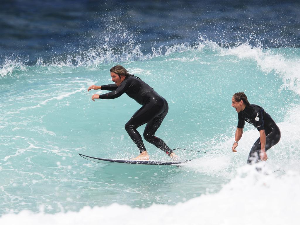 Pullin also loved surfing.