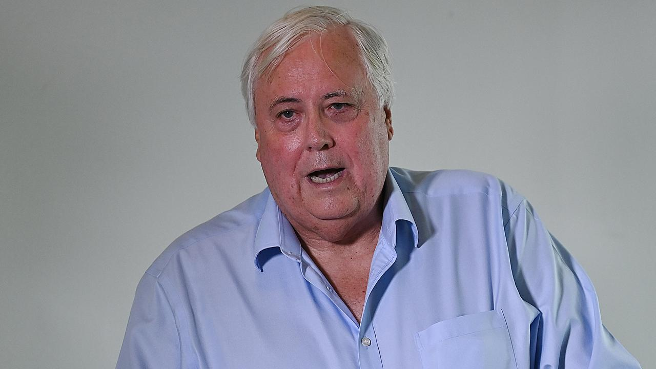 Clive Palmer's border dispute with WA dates back to May. Picture: Lyndon Mechielsen