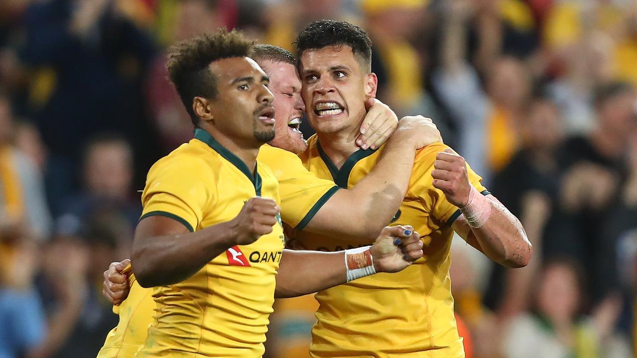 Kurtley Beale says Australian rugby is benefiting from the return of Matt Toomua.