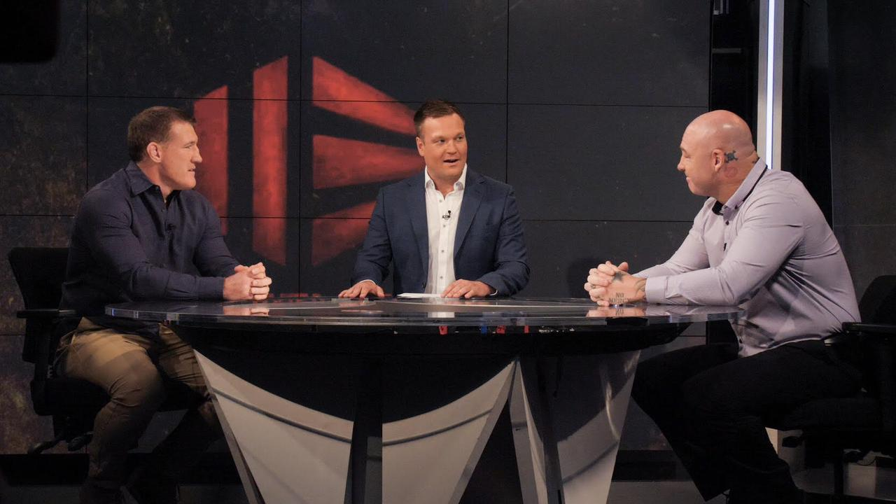 Paul Gallen and Lucas Browne sat down to chat ahead of their April bout.