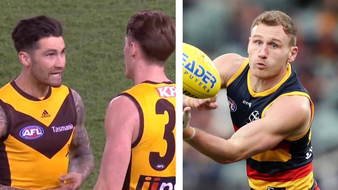The Crows defeated Hawthorn at Marvel Stadium.