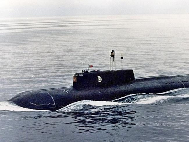 """Squadron commanders have said the """"Putin effect"""" has spurred them to push for upgrades. Picture, a Russian submarine from 1999."""