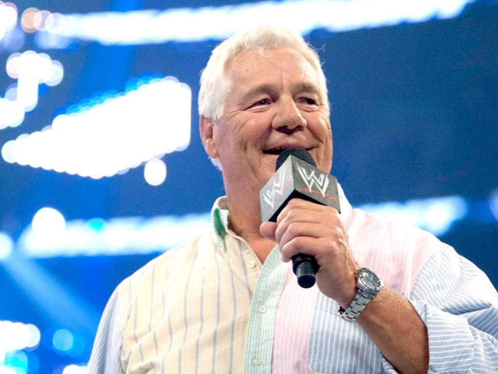 Pat Patterson in action for the WWE. Photo: WWE