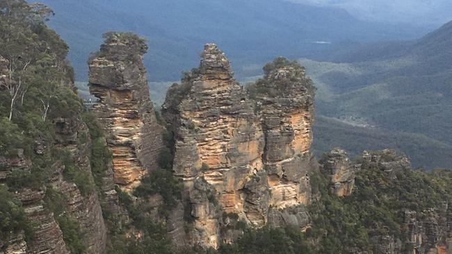 Researchers warn pollution is posing a massive risk to water quality in the world heritage-listed Blue Mountains. Picture: Supplied