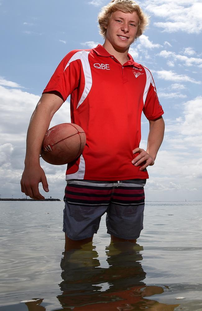 Sydney Academy graduate Isaac Heeney. Picture: Justin Sanson