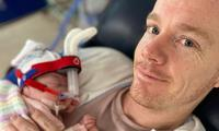 'Being a NICU dad is scary and traumatic'