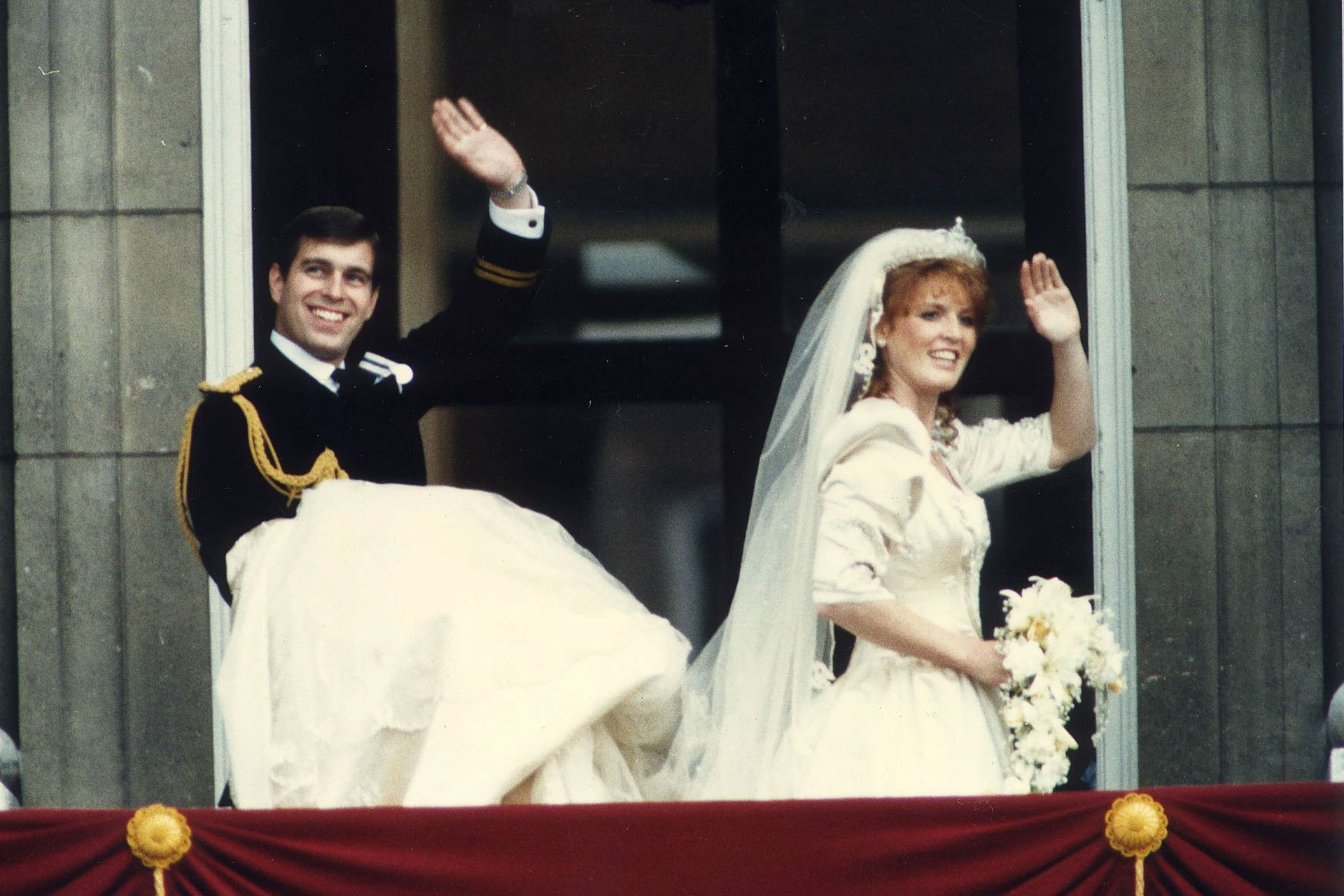 Inside Prince Andrew and Sarah Ferguson's 1986 wedding