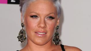 Singer Pink arrives at the 2010 American Music Awards held at Nokia Theatre L.A. Live on November 21, 2010 in Los Angeles, California. (Photo by Jason Merritt/Getty Images for DCP)