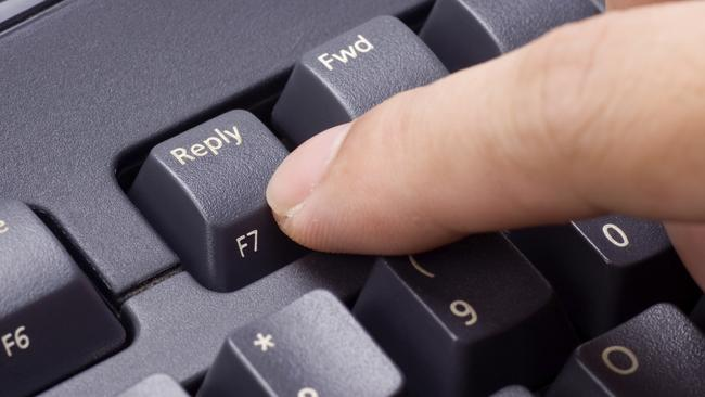 Not pointing the finger or anything, but ... Picture: Thinkstock