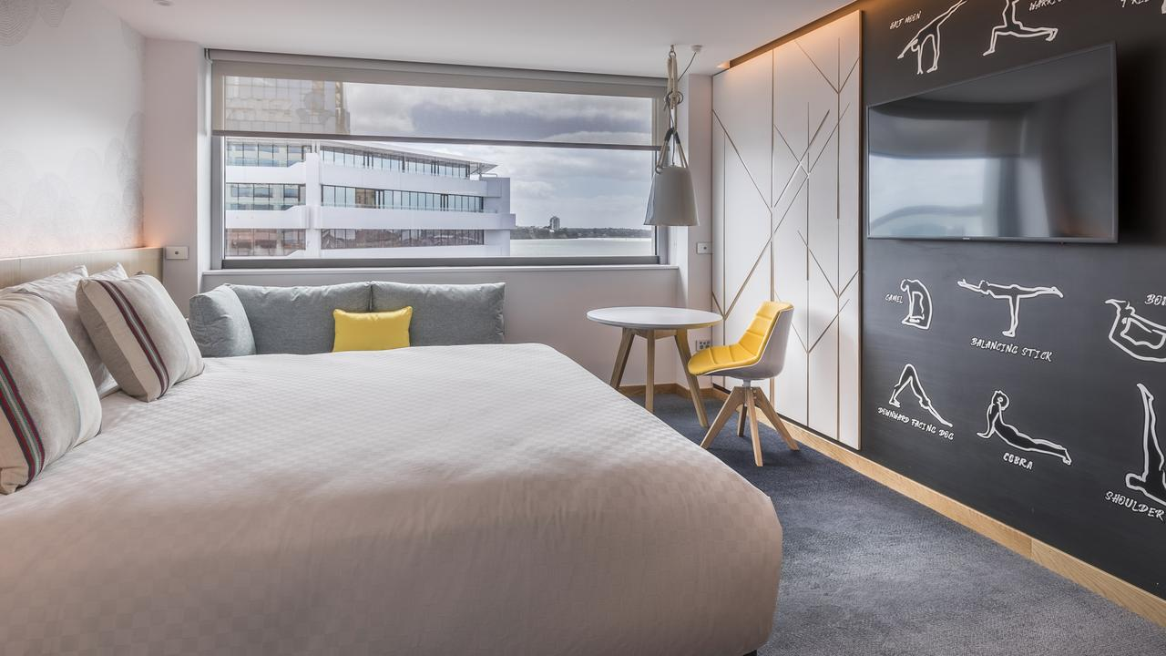 Supplied Travel WHAT'S YOUR BUDGET: AUCKLAND. M Social hotel Social Room. For story by Celeste Mitchell. Picture: