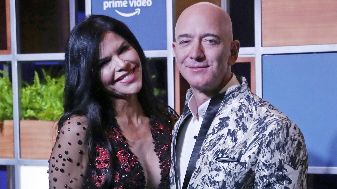Jeff Bezos and Lauren Sanchez have bought a cosy love nest. Picture: AP Photo/Rafiq Maqbool