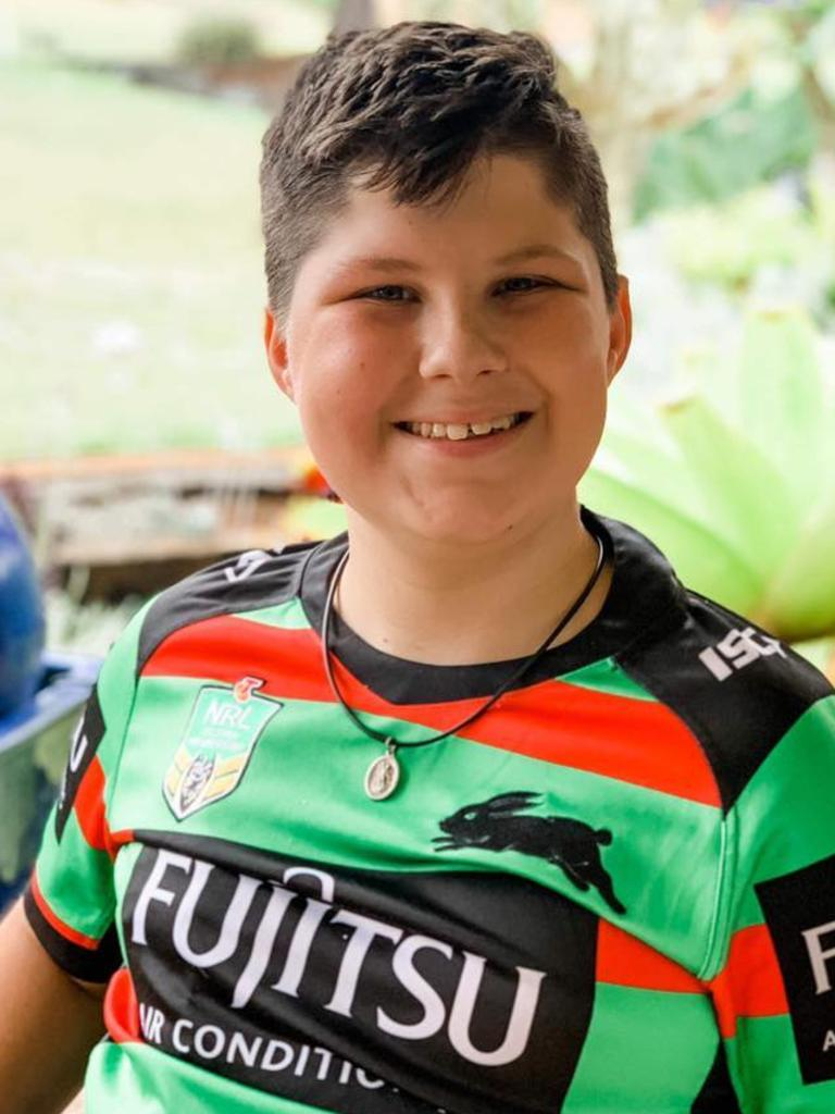 Jake Spurdle died peacefully on Friday morning after a battle with cancer. Pic Supplied