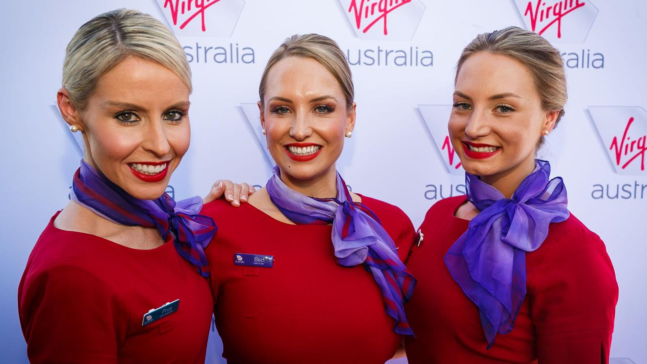 Virgin Australia cabin crew. Picture: Supplied