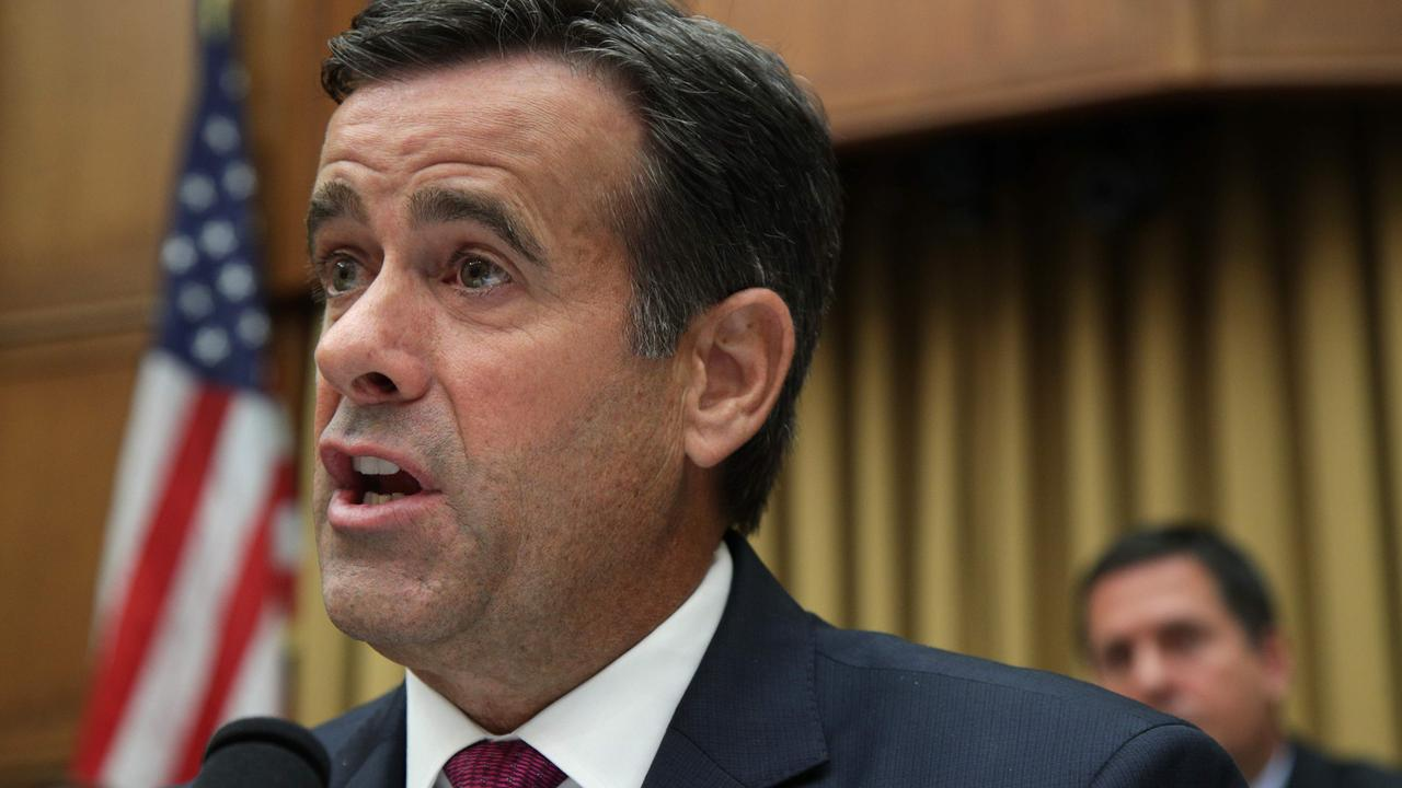 John Ratcliffe serviced in the Trump administration from 2020 to 2021. Picture: Alex Wong / Getty Images North America / AFP