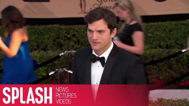 Ashton Kutcher credits his family for making him a better person