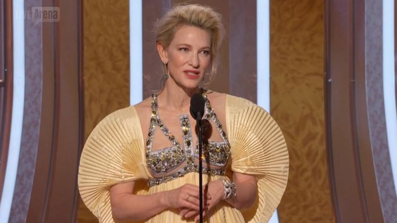 Cate Blanchett at the 2020 Golden Globes.
