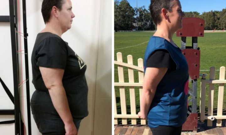Single mum's incredible 25kg weight loss
