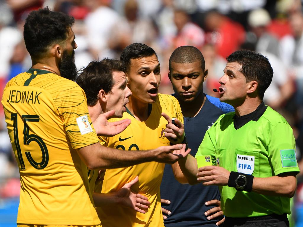 Blaming a diving Frenchman or the referee seems easier.