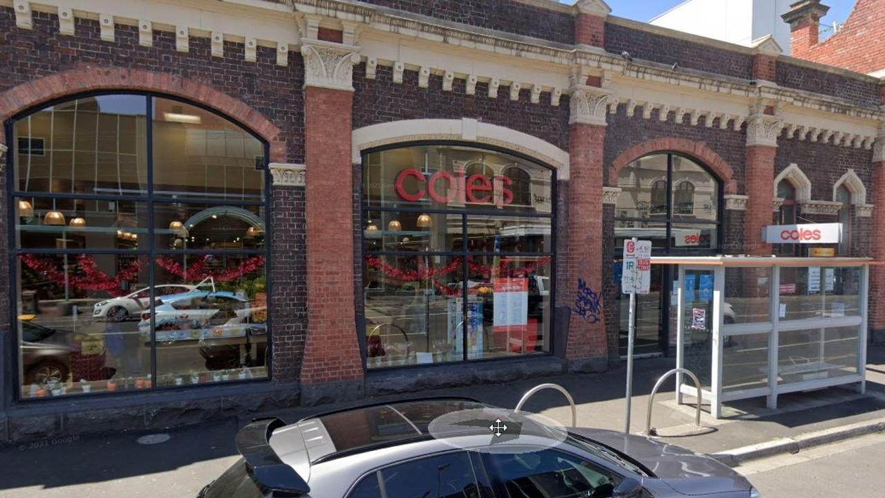 A coles store in the Melbourne suburb of Fitzroy is trying a new system where customers bring their own containers for certain items. Picture by Google via NCA NewsWire.
