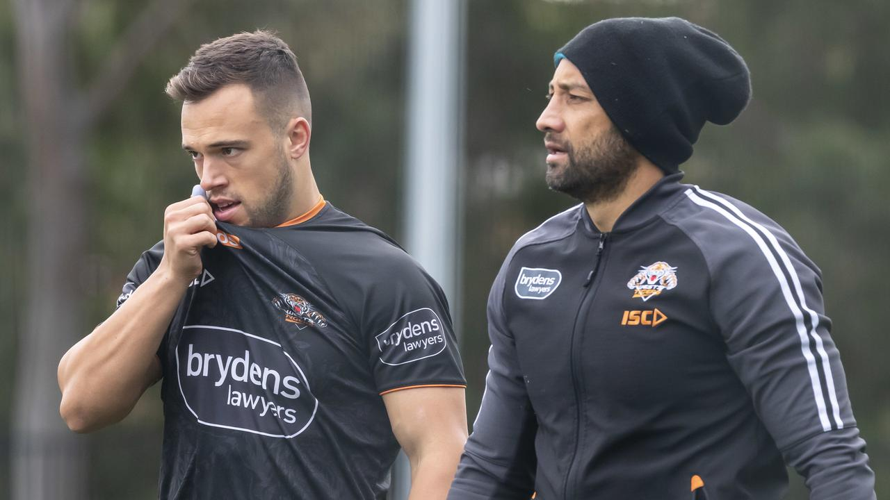 Luke Brooks and Benji Marshall have both been dropped in 2020 for poor defence.