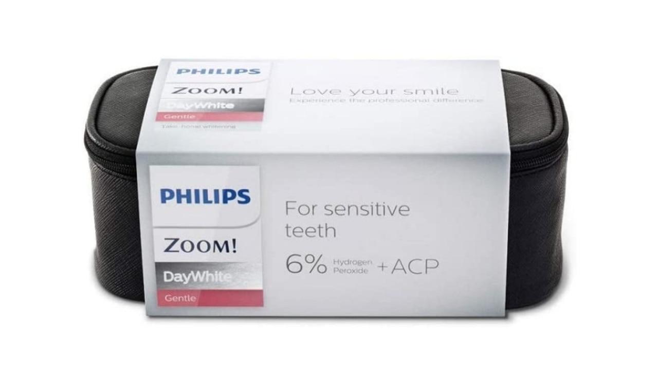 Philips Zoom 6% Day White Hydrogen Peroxide Teeth Whitening Gel Complete Kit. Image: Amazon Australia.