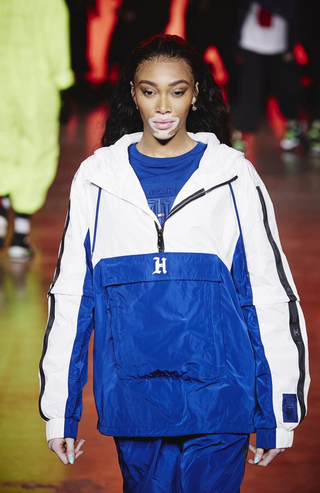 'H' for Harlow? Winnie Harlow. Picture: Getty Images for Tommy Hilfiger