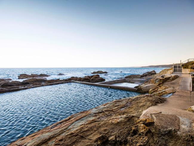 BERMAGUI'S BLUE POOL, SAPPHIRE COASTIts rating as one of the best ocean pools in the world makes this spot a must-see.