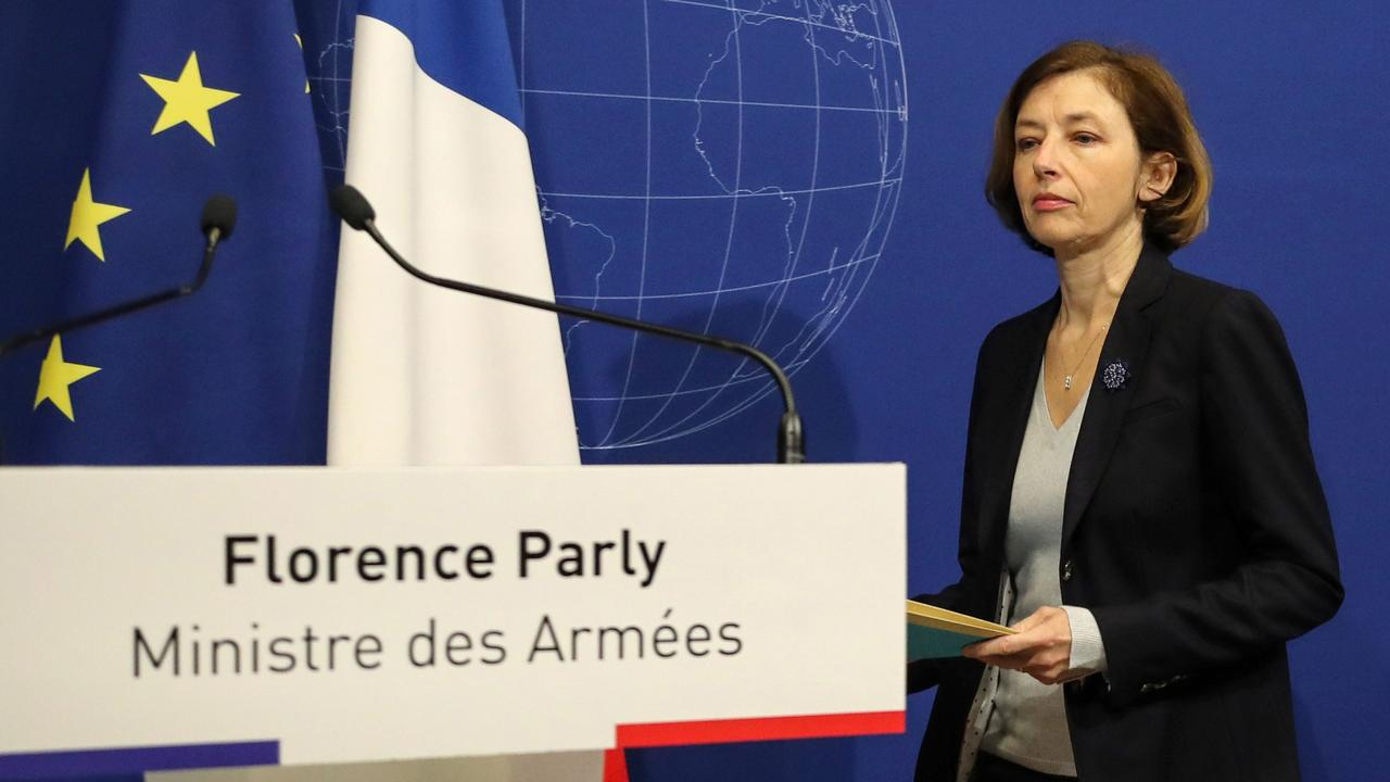 """Four lives were saved in what French Defence Minister Florence Parly called """"an operation of rare difficulty"""" that grew more complex with the discovery of the other hostage. Picture: Jacques Demarthon/AFP"""