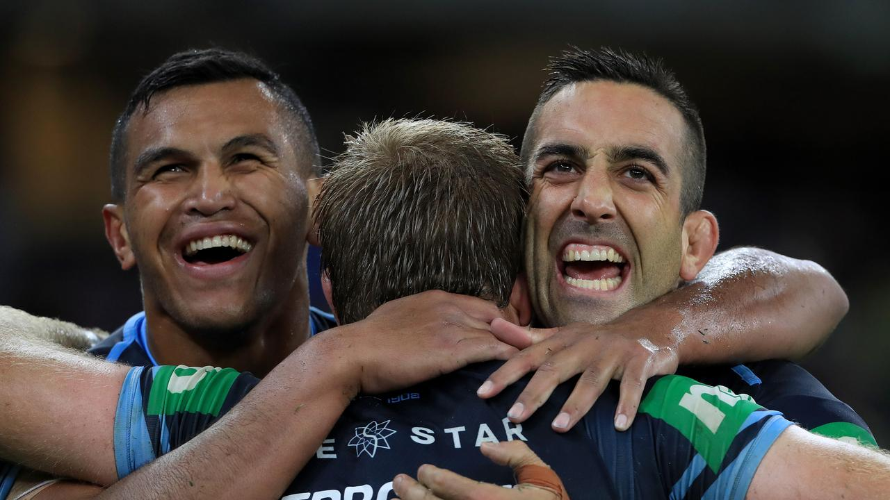 The NSW pack got their better of their Queensland rivals. Picture: Adam Head