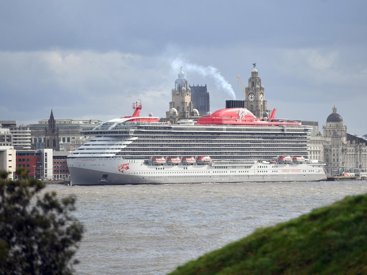 Virgin Voyages 'Scarlet Lady' Cruise Ship Arrives at Liverpool for Star-Studded Extravaganza