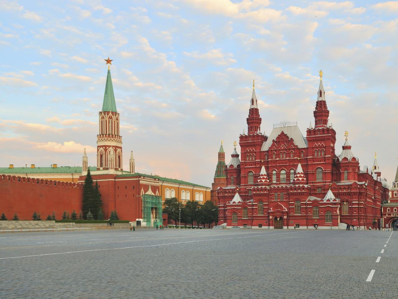 ESCAPE: RUSSIA .. Nina Karnikowski story .. Red Square in Moscow. Picture: Supplied