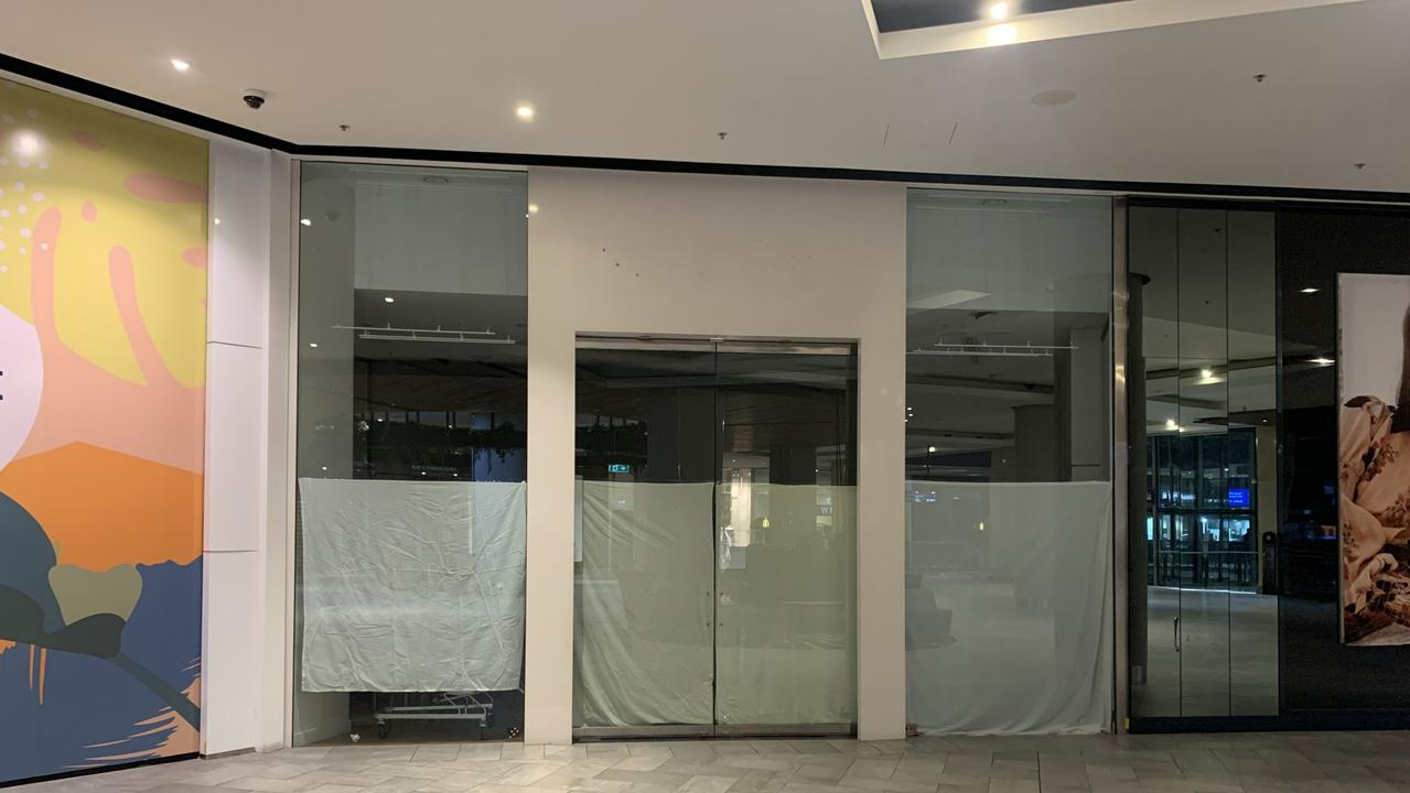 The Pandora jewellery store at the Top Ryde City shopping centre in Sydney closed due to COVID-19 and will never reopen. Neither will the Harris Scarfe department store right next door.