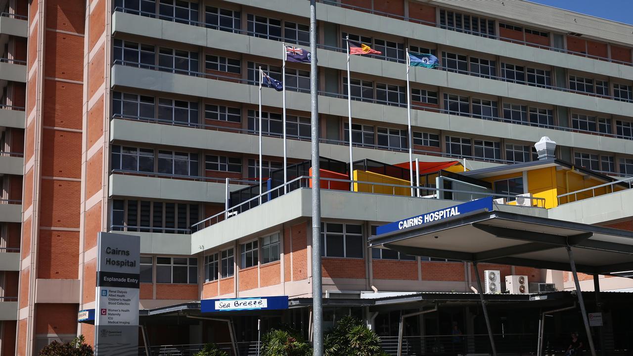 Cairns Hospital. Photo: BRENDAN RADKE