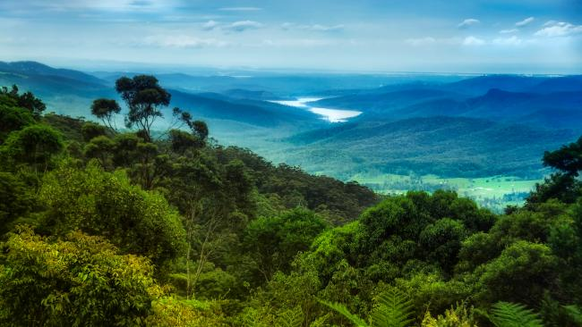 1/10 Lamington National Park Tucked behind the Gold Coast, this place is as delicious as it sounds. The 1.8-kilometre Centenary Track is an easy loop through the forest but it's the Box Forest 10k version that is the real treasure as it takes in the Elebana Falls. Accomm wise, you can glamp it up at O'Reillys or go back to basics at Echo Point, Illinbah and Darlington. Costs: $6.85 per person per night, or $27.40 per family per night. Camping fees must be booked and paid for before you arrive. For more camping info, click here.