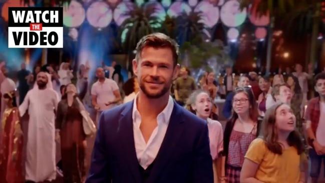 The new Dubai Expo 2020 ad starring Chris Hemsworth